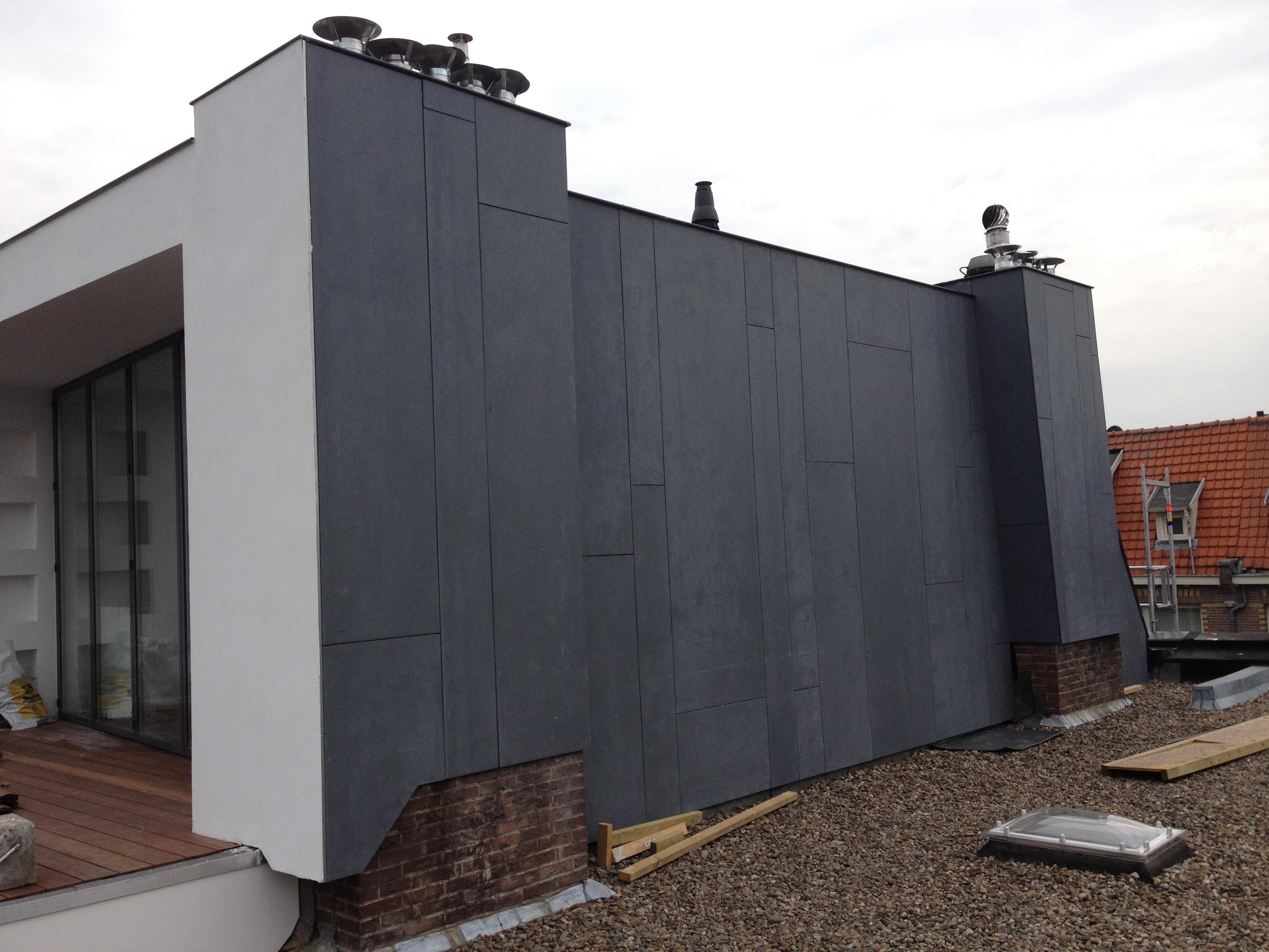 UFA Bouw – Verbouwing – Nic Maesstraat – dakterras -zijkant