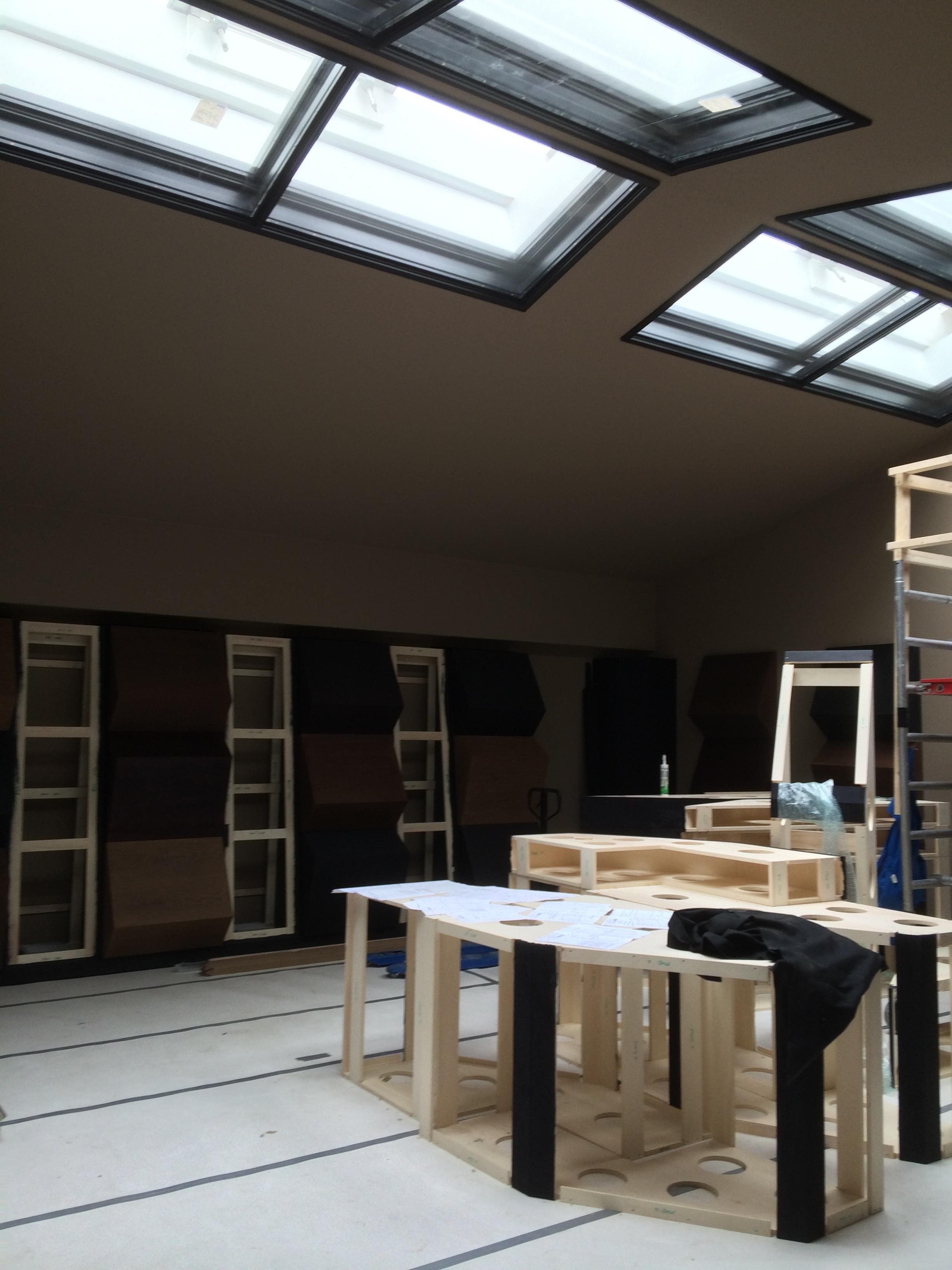 UFA Bouw-Verbouwing-geluidsstudio-glazen dak