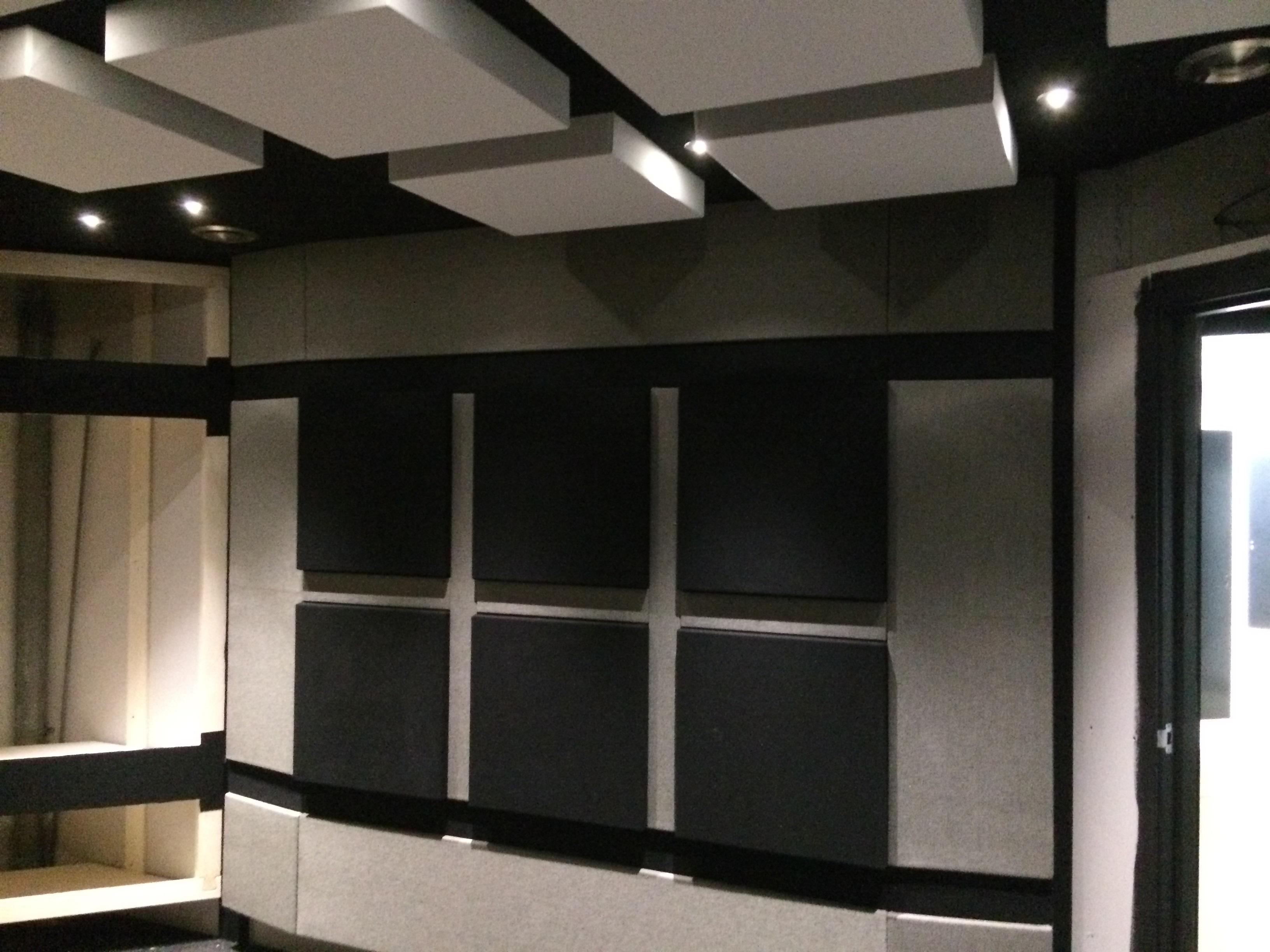 UFA Bouw-Verbouwing-geluidsstudio-plafond