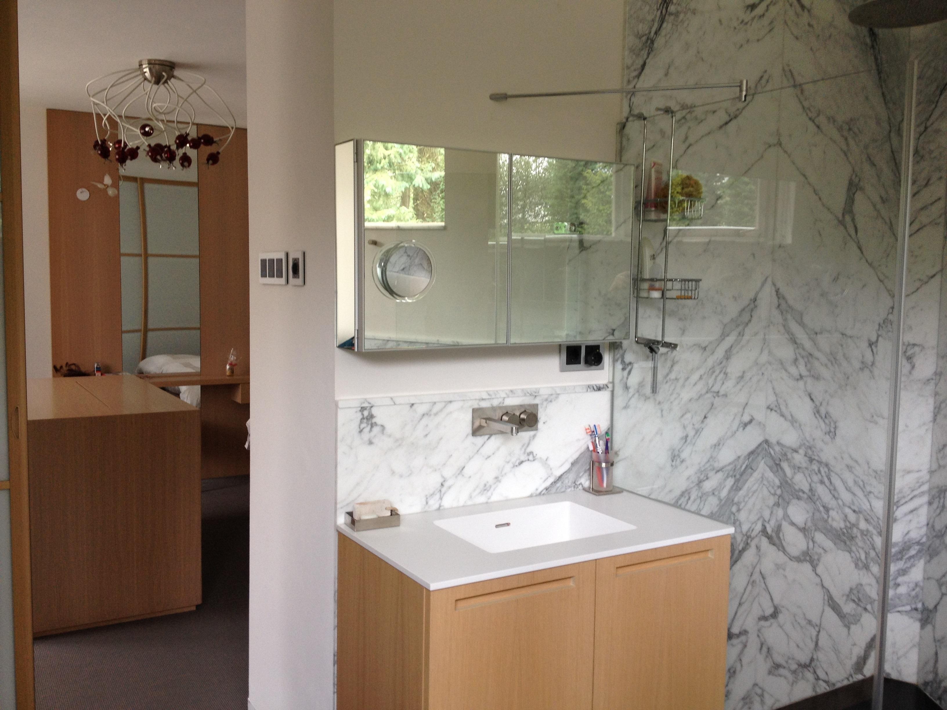 Luxe Badkamer Amsterdam : Badkamer grachtenpand amsterdam ufa bouw