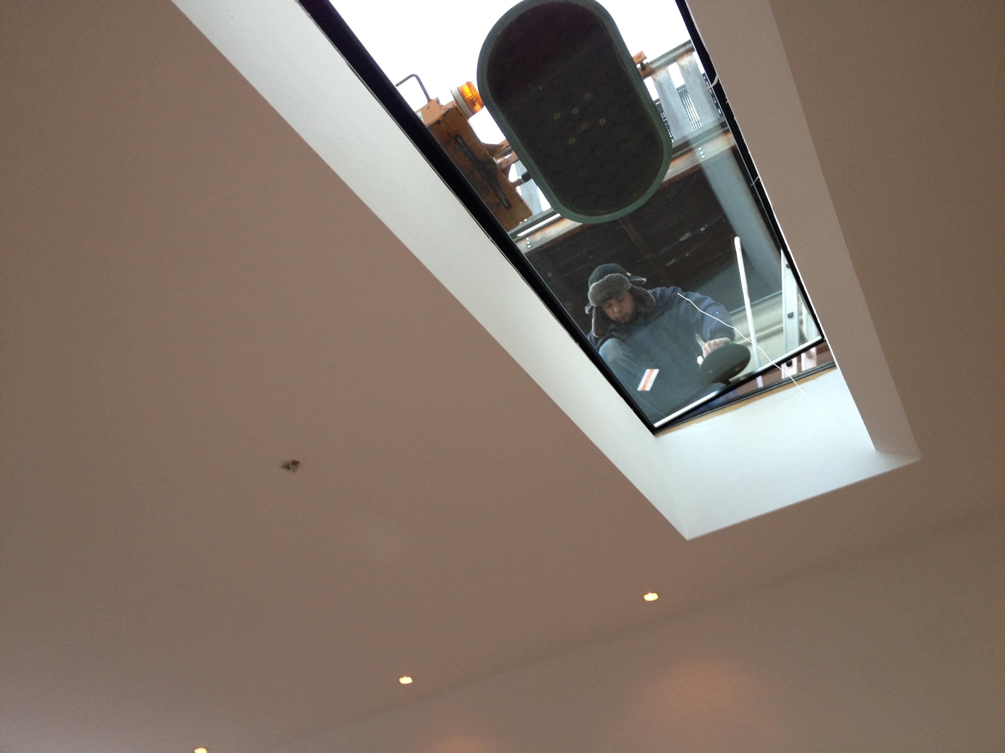 UFA Bouw-Verbouwing-Langestraat-plaatsen dakraam binnen