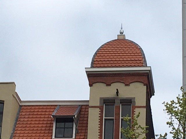 UFA Bouw-projecten-Nieuwe Achtergracht-Dak
