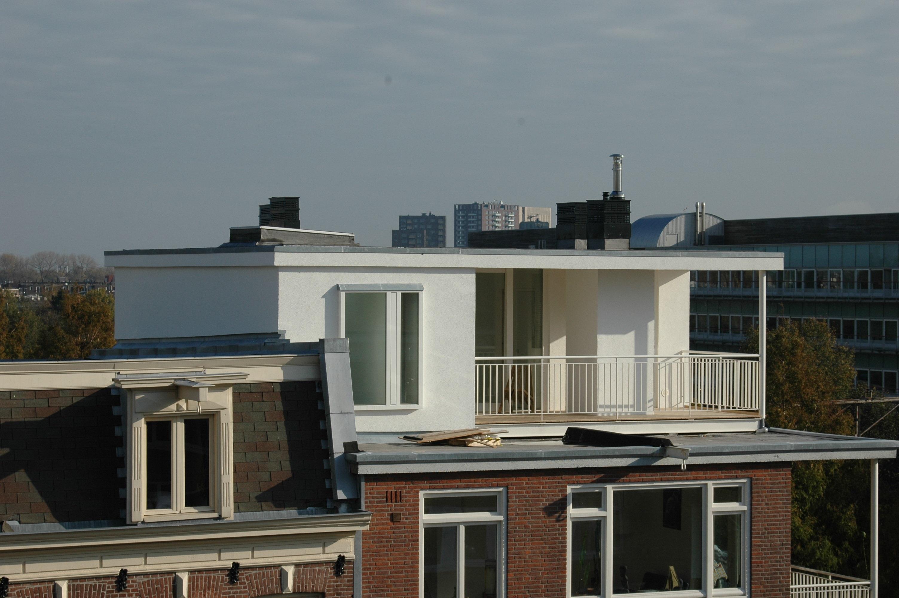Linnaeusstraat verbouwing UFA Bouw – overzijde inzoom