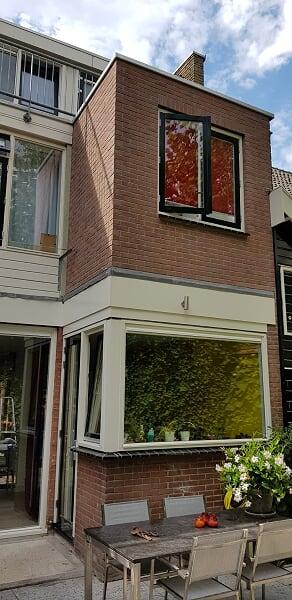 Verbouwing UFA Bouw_Schiedam_Uitbouw buitenzijde badkamer 2