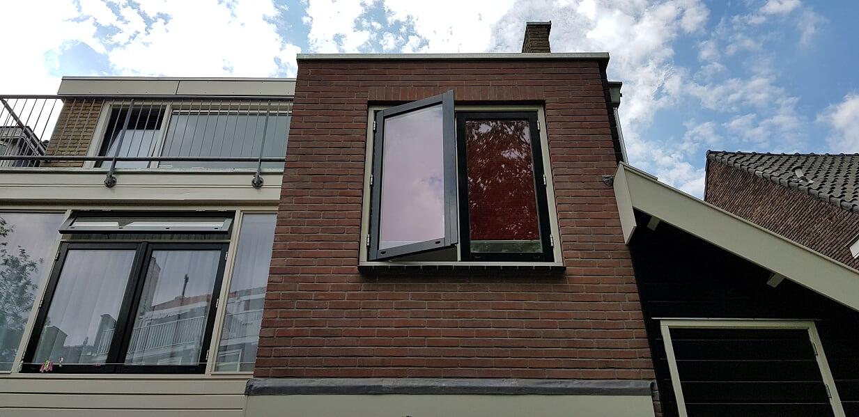 Verbouwing UFA Bouw_Schiedam_Uitbouw buitenzijde badkamer