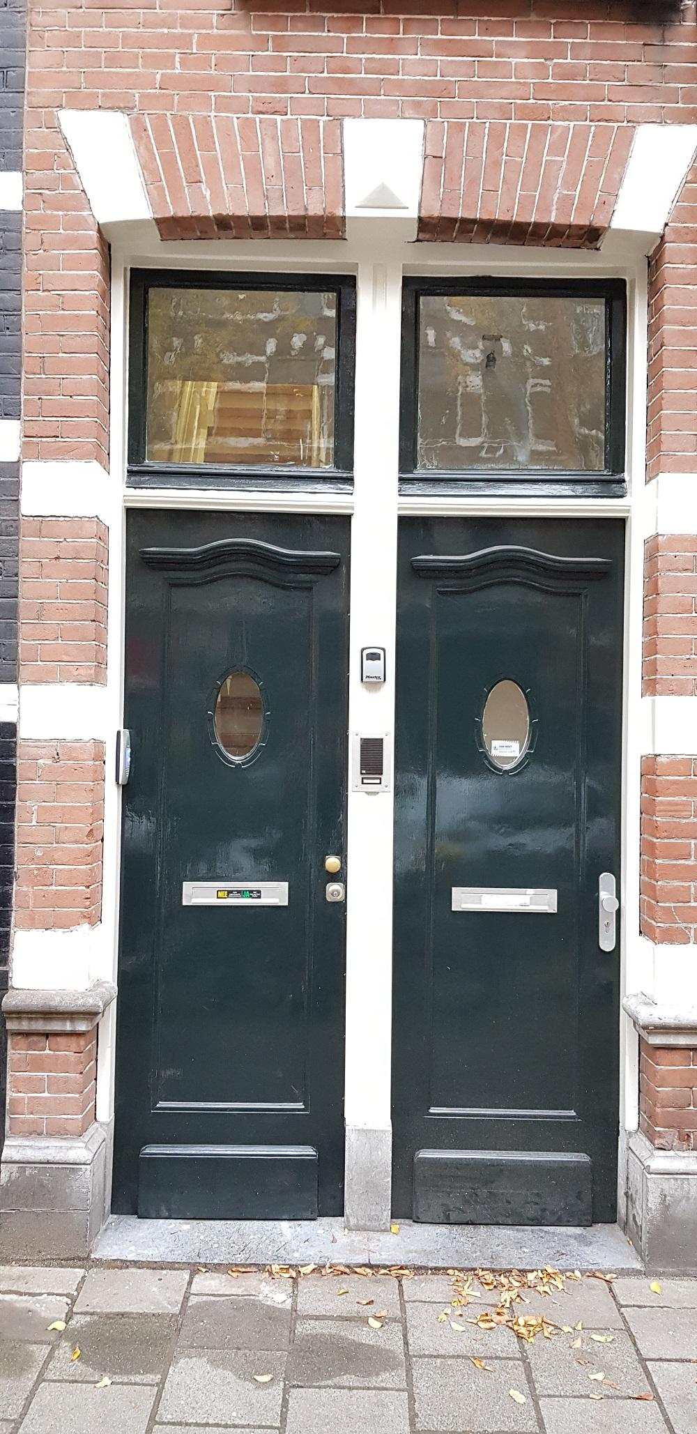 UFA Bouw_Verbouwing_Bosboom Toussaintstraat 31_voorzijde deur