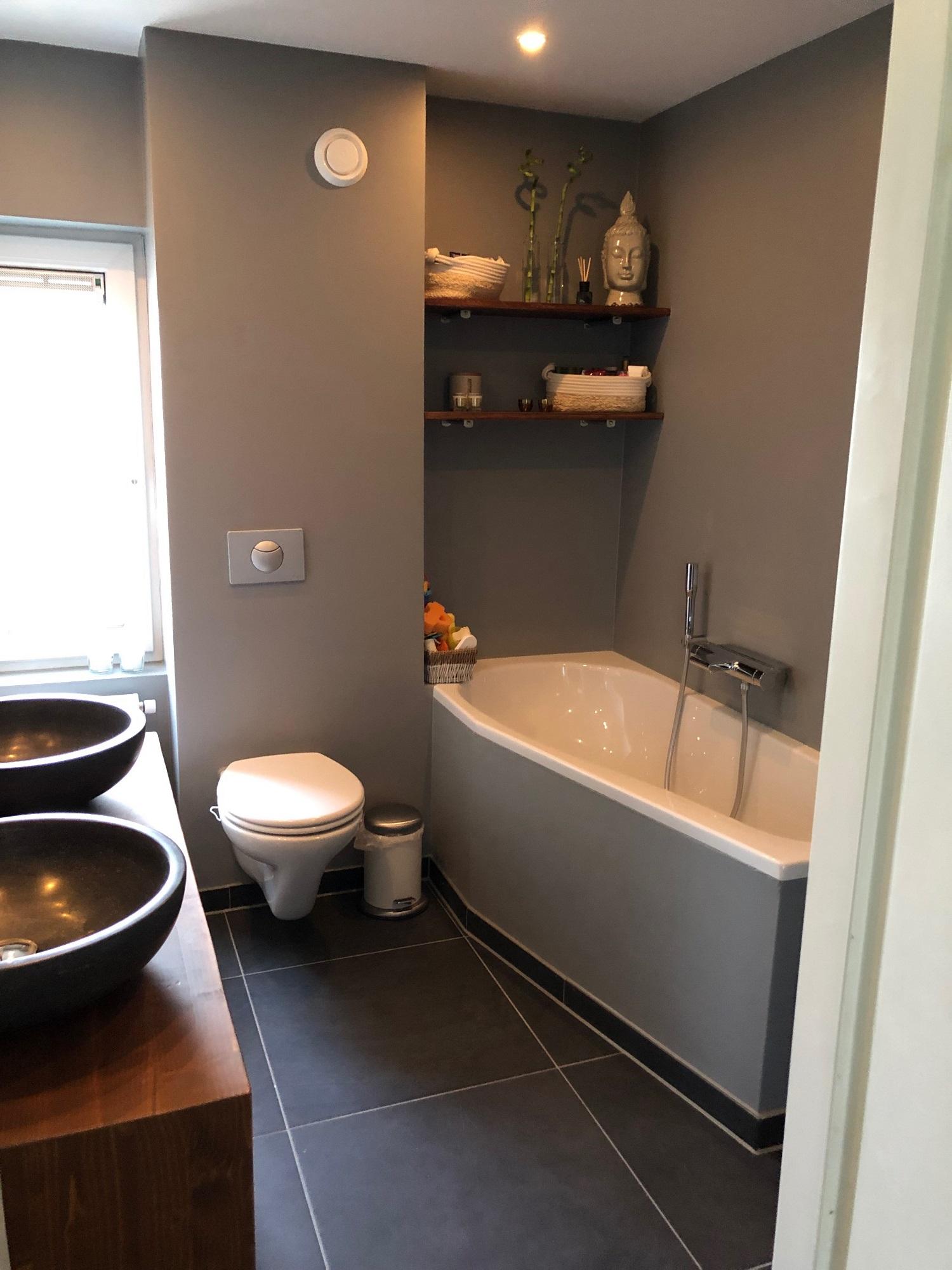 Renovatie badkamer - bad