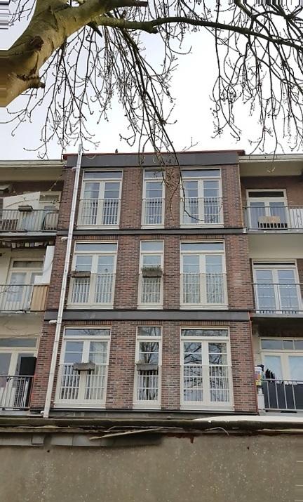 UFA Bouw_renovatie Kramatweg_Woningen met nieuwe uitbouw achterzijde