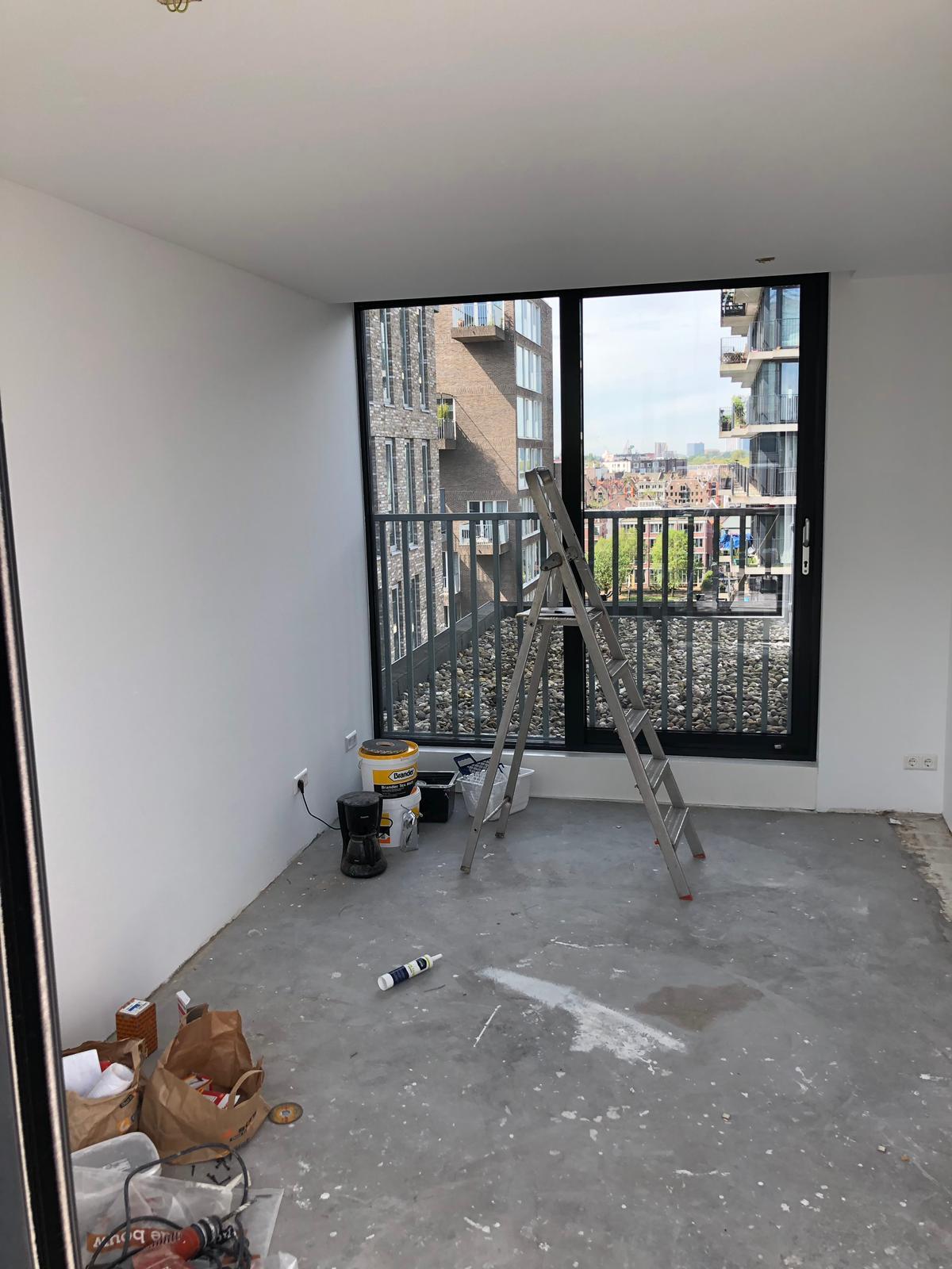 UFA Bouw_Dakuitbouw Westerdoksdijk_Dakopbouw interieur extra kamer