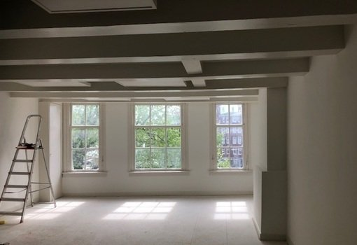 Warmte panelen huiskamer