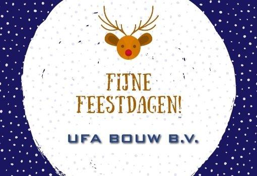 UFA Bouw fijne feestdagen