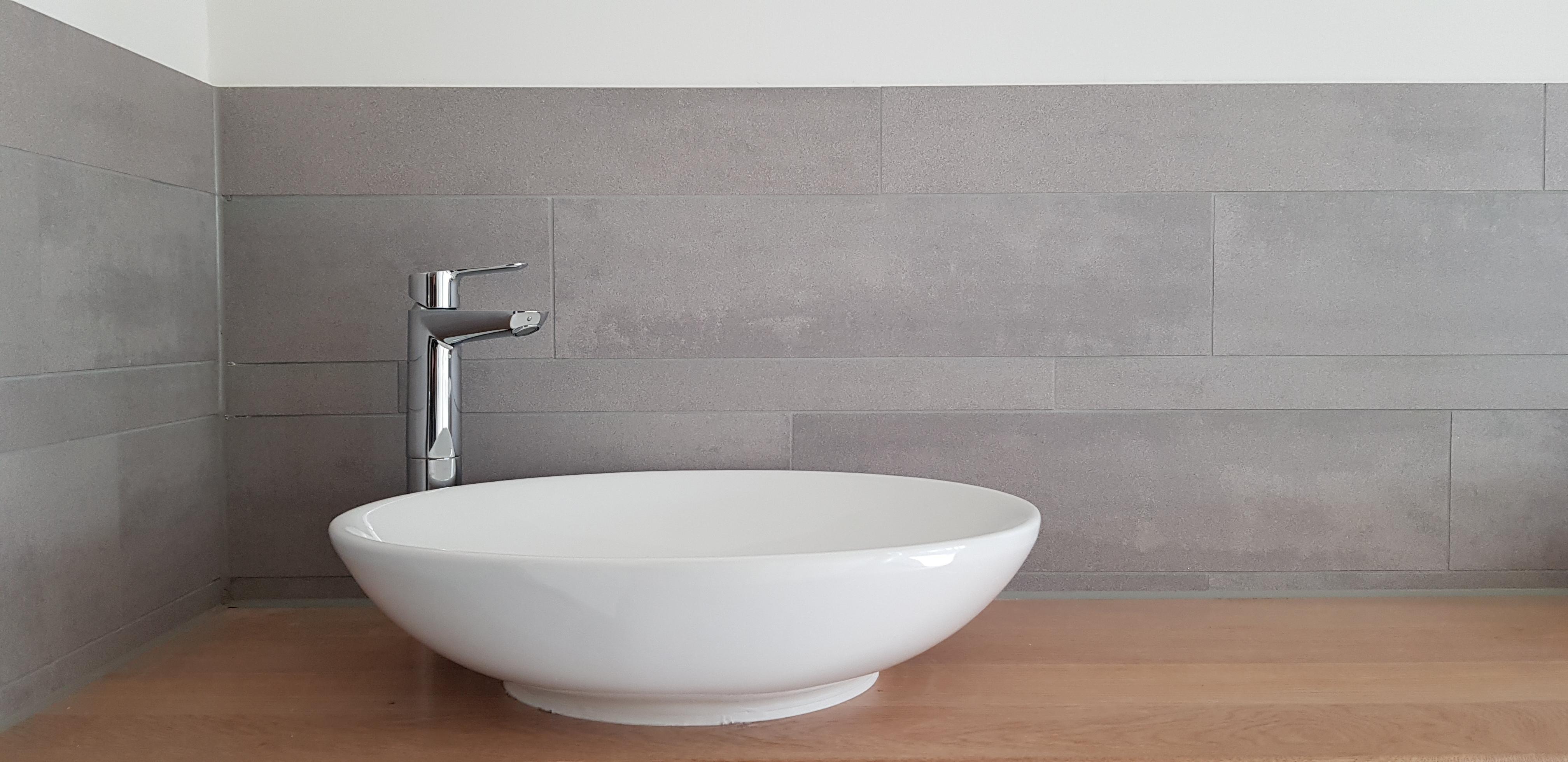 UFA Bouw_Renovatie_Generaal Vetterstraat_Bedrijfslofts_Afwerking toiletruimte wasbak