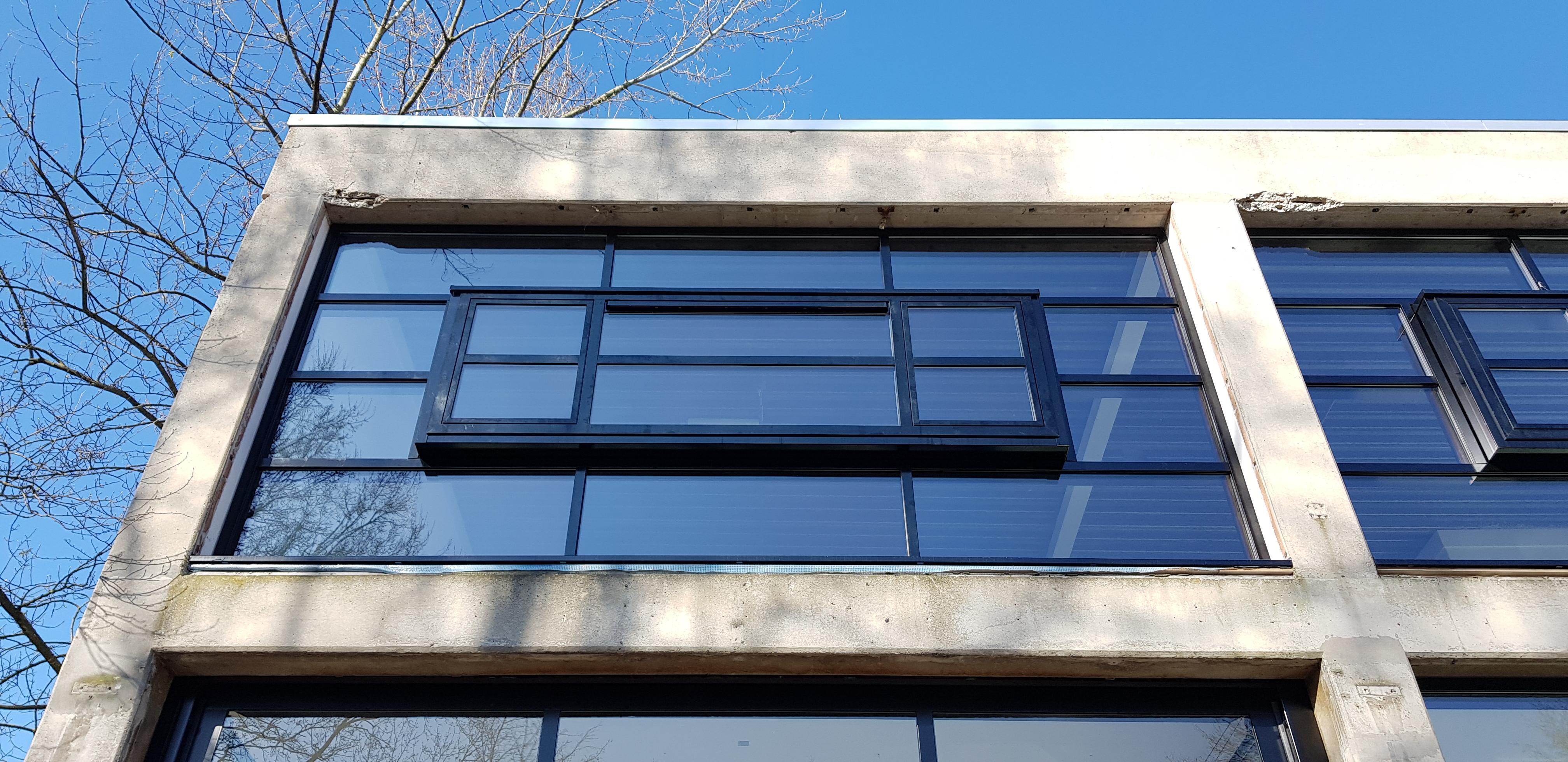 UFA Bouw_Renovatie_Generaal Vetterstraat_Bedrijfslofts_Front Voorzijde