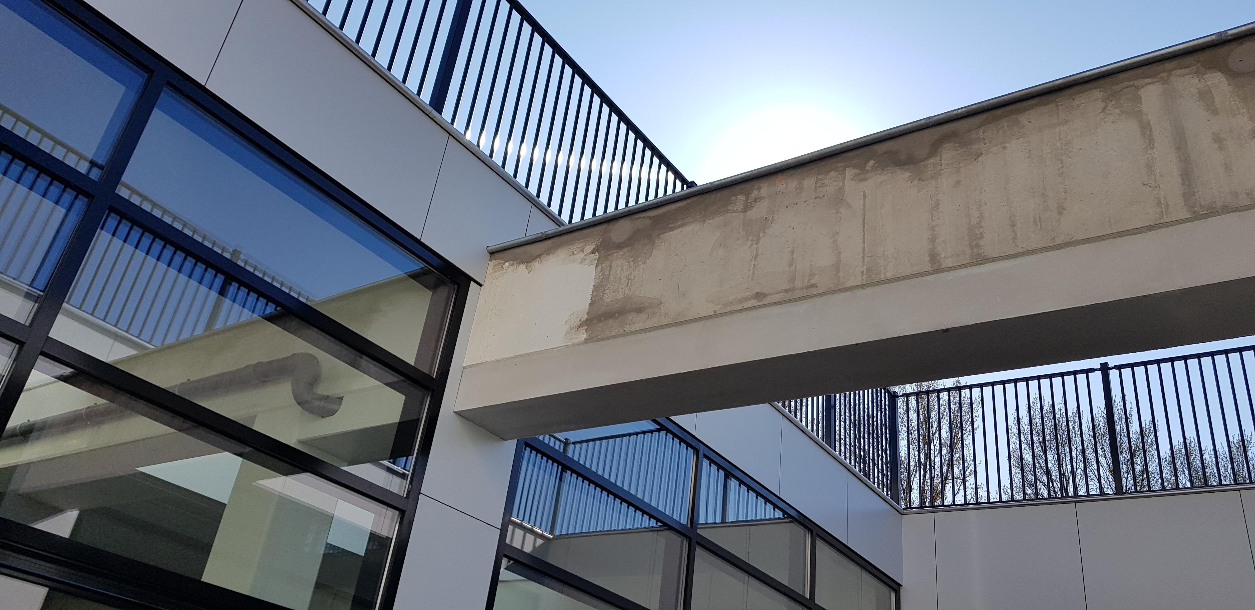 UFA Bouw_Renovatie_Generaal Vetterstraat_Bedrijfslofts_Patio naar dak