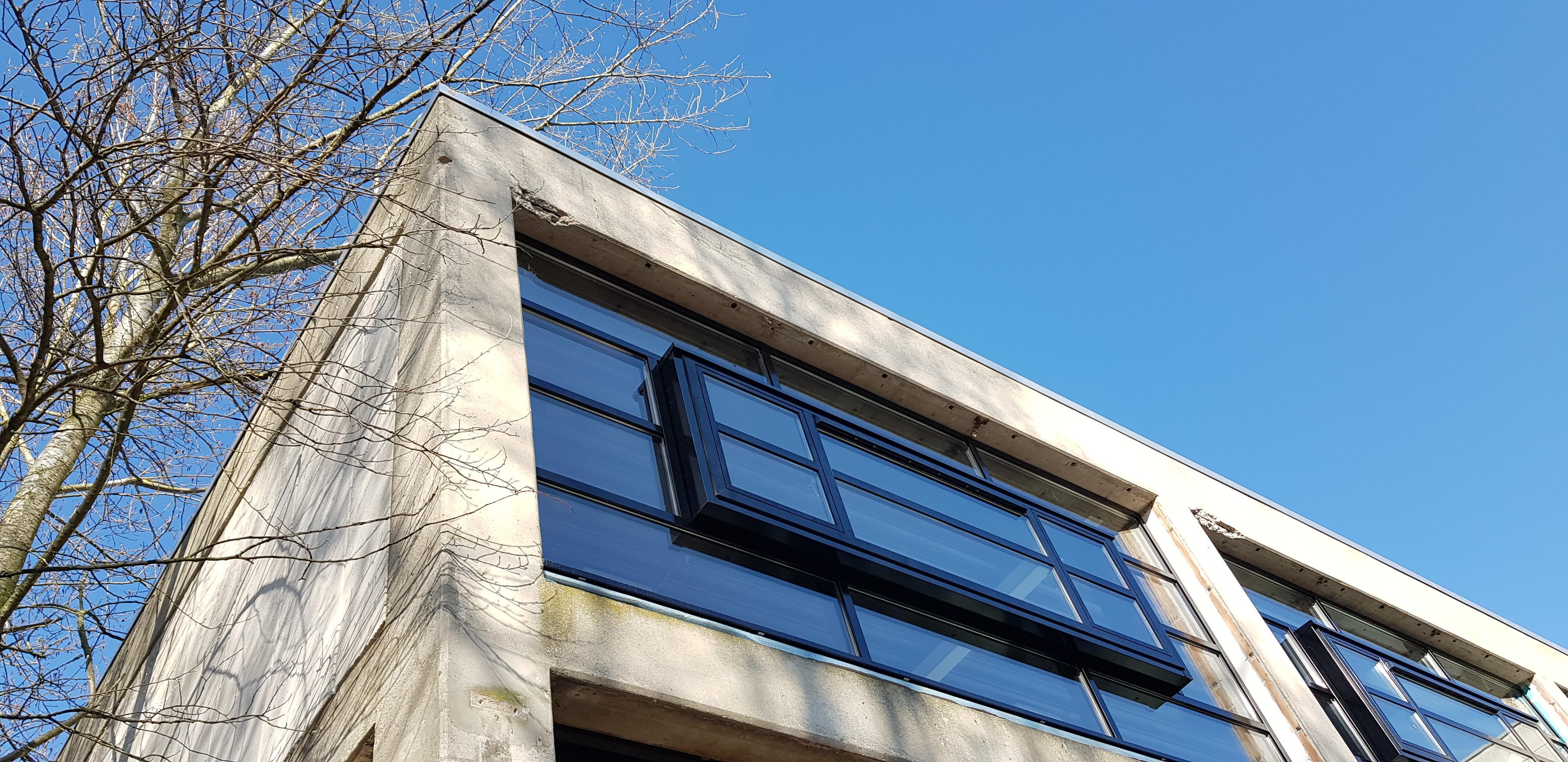 UFA Bouw_Renovatie_Generaal Vetterstraat_Bedrijfslofts_Voorzijde