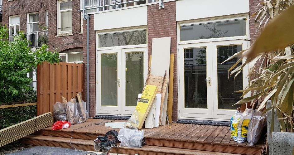 UFA Bouw_Renovatie_Nassaulaan 37_Achterzijde work in progress 943×497